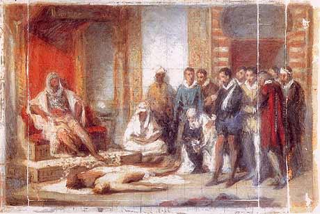 Reconhecimento do cadáver de D. Sebastião
