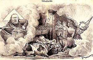 Caricatura de Bordalo Pinheiro