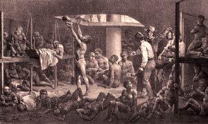 Escravos em transporte